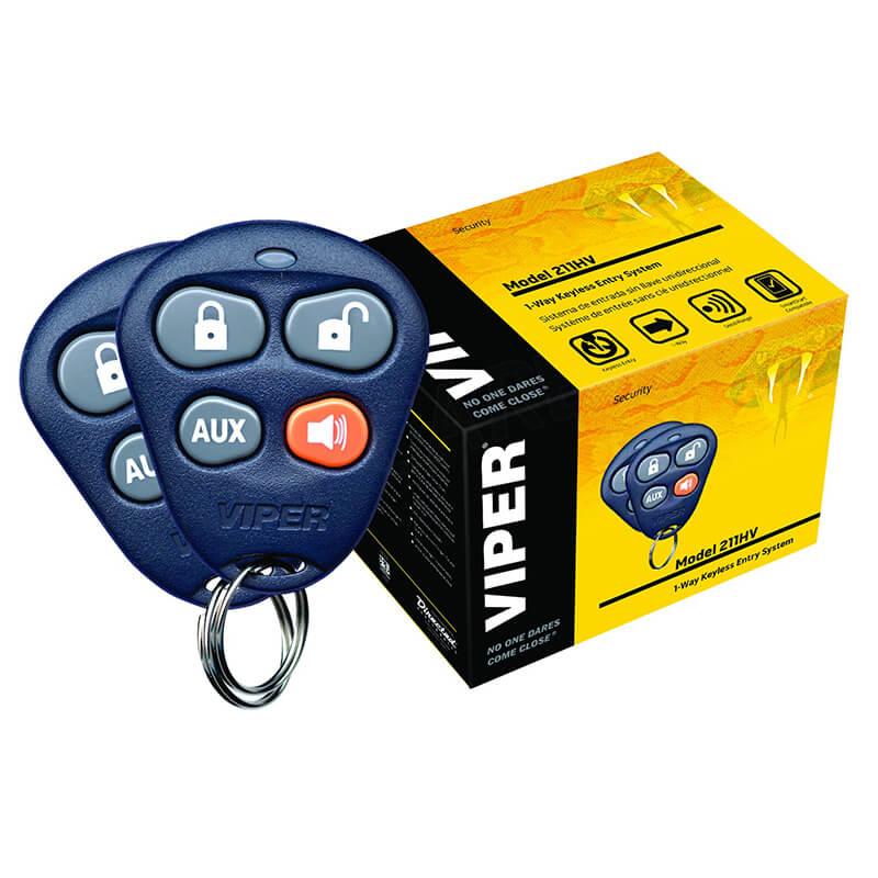 Viper 211HV-3 Channel Keyless Entry System (412V)